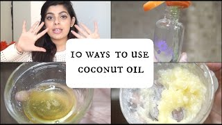 10 Ways to Use Coconut Oil for Skin, Hair & Body | Natural Remedies | DIY