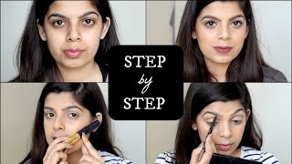 Step By Step Makeup Tutorial for Beginners | How to apply Makeup | Beginner Series #3