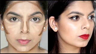 Basic Contouring & Highlighting for Beginners | How to Contour & Highlight | Beginners Series #5