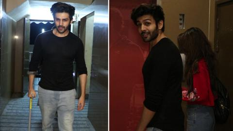 Kartik Aaryan Spotted With His Girlfriend