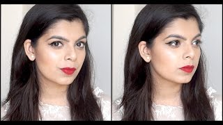 Party Makeup Look | Beginner's Friendly | Classic Winged Eye & Red Lips