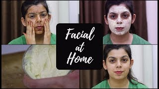 3 Step NATURAL Facial at Home | Step By Step | Quick and Easy