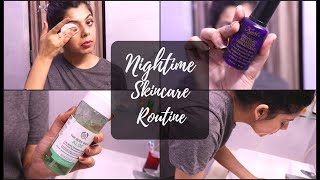 Daily Nightime skincare Routine