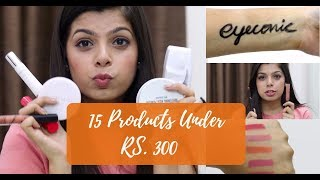 15 Makeup Products Under Rs.300   Affordable Makeup