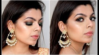Indian Wedding Guest GRWM | Makeup Tutorial