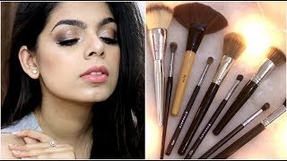 AFFORDABLE BRUSHES FOR BEGINNERS | How to use Brushes