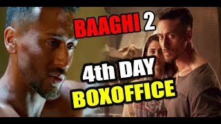 Baaghi 2 Box office collection 4th day | Tiger Shroff | Disha Patani | Sajid Nadiadwala