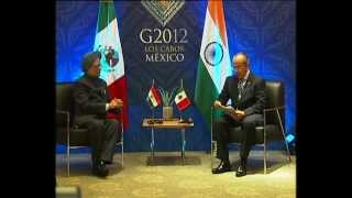 PM meets with President of Mexico in Los Cabos, Mexico
