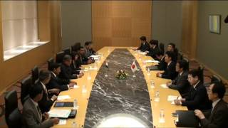 EAM meets Japanese Foreign Minister Mr. Kochiro Gemba in Tokyo (July 8, 2012)