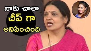 Jeevitha Rajasekhar Fires on Sri reddy | Jeevitha Rajasekhar About Casting Couch