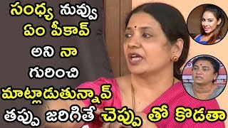 Jeevitha Rajasekhar Fires On POW Sandhya And Sri Reddy | Jeevitha Rajasekhar Press Meet