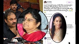 Sri Reddy says sorry to Pawan Kalyan's mother | Tollywood Casting Couch I srireddy tiwts