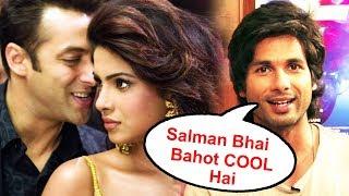 BHARAT- Priyanka Chopra Reaction On Working With Salman, Salman Sir Is The COOLEST Person - Shahid