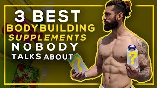 3 BEST SUPPLEMENTS FOR BODYBUILDING (Must Buy These)