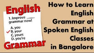 Spoken English Class for school and colleges in  Cuttack, Orissa .