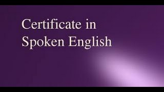 Spoken English Class for colleges and universities in