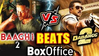 Tiger Shroff's BAAGHI 2 BEATS Salman's DABANGG 2 At Box Office