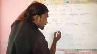 Learn UZBEK through English.                         HINDI.