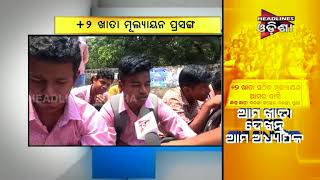 Student Protest For +2 Valuation In Balanga College