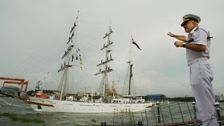 INS Sudarshini Naval Expedition to ASEAN Countries - Flag off Ceremony in Kochi (September 15, 2012)