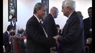 Working Breakfast of the 13th Asia-Europe Business Forum at Vientiane on November 5, 2012 - Part 1