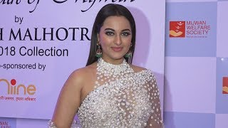 Sonakshi Sinha At Mijwan Fashion Show 2018 Show By Manish Malhotra