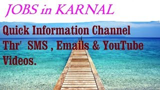 JOBS in KARNAL   for Freshers & graduates. Industries, companies.