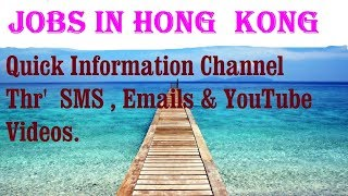 Jobs in HONG  KONG    City for freshers & graduates. industries, companies. HONG KONG.