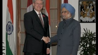 State Visit of Prime Minister of Canada: Signing