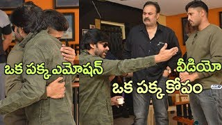Allu Arjun Emotional Hug to Pawan Kalyan | Pawan Kalyan Angry Video | Naga babu | Top Telugu TV