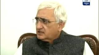 Interview of External Affairs Minister, Shri Salman Khurshid to ABP News.