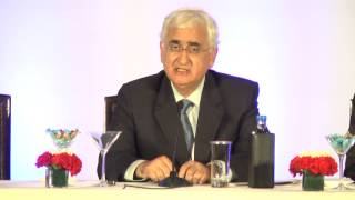 Media interaction by External Affairs Minister, Shri Salman Khurshid  (December 21, 2012) - Part 1