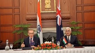 Visit of Foreign Affairs Minister of Australia Senator Bob Carr- Joint Media Interaction