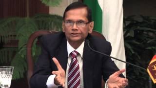 Visit of Minister of External Affairs, Sri Lanka Prof. G. L. Peiris-Joint Media Interaction- Part 1