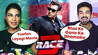 Jacqueline Reaction And Saqib Saleem On Salman Khan's RACE 3