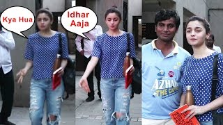 Alia Bhatt's Sweet Gesture Towards Fan Who Came From Village