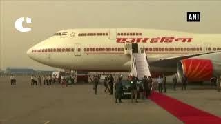 PM Modi returns to India after three