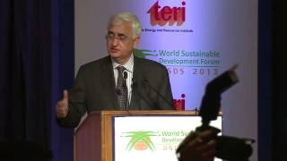 Valedictory address by External Affairs Minister at the Delhi Sustainable Development Summit 2013