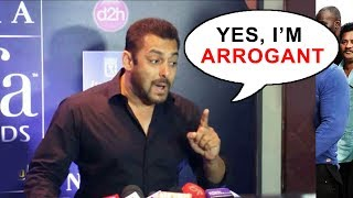 Salman Khan's BEST REPLY To MEDIA Calling Him RUDE And Arrogant
