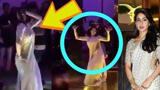 Sara Ali Khan Dance Moves In Saree on Song Saat Samundar Paar
