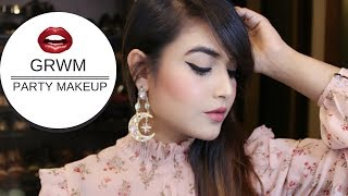 GRWM | PARTY MAKEUP | MAKEUP AND FASHION DAIRIES