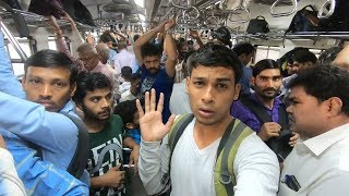 Buying Luxury Train Ticket - World's Busiest Railway (Poor vs Rich)- Social Experiment | TamashaBera