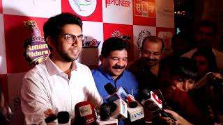 Supremo Trophy Launch 2018 BIGGEST FOOTBALL & TENNIS TOURNAMENT WITH Ratan Tata, Aditya Thackeray