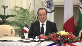 State Visit of President of France: Signing of Agreements and Media Statements Part 2 of 2