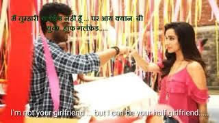 Half Girlfriend     Hindi movie dialogue with English subtitles......musuc and songs