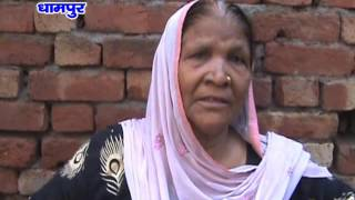 गरीब के निर्माणाधीन मकान का लिंटर गिरा, बाल बाल बचे मजदूर