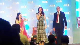 Anushka Sharma At Standard Chartered Press Conference