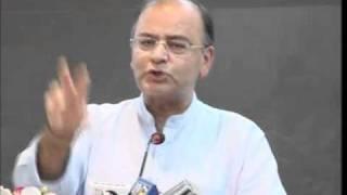 Part 1: Kashmir Situation: Shri Arun Jaitley:  Sept 2010 :
