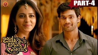 Jaya Janaki Nayaka Full Movie Part 4 - Bellamkonda Sai Srinivas, Rakul Preet Singh - Boyapati Srinu