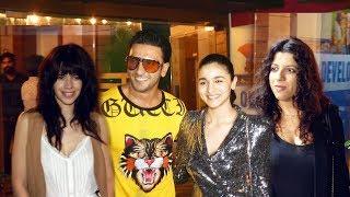 GULLY BOY Wrap Up Party | Ranveer Singh, Alia Bhatt And Team
